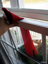 Photo of So hängen Sie Kränze an Vinylfenster