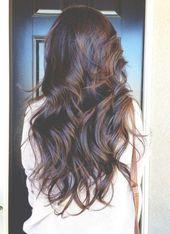 Schöne lange Wellen Frisur 167