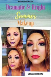 3 Dramatic Summer Makeup Looks