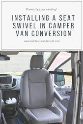 Umbau Van: Sitzdrehgelenk im Ford Transit einbauen   – Minivan