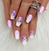 nails – 50 Winter Nail Art Designs 2019