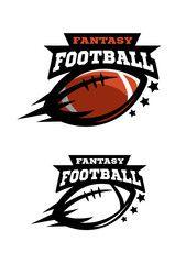 Free Fantasy Football Team Logos : fantasy, football, logos, American, Football, Fantsy., Options, Logo., Football,, Ball,