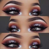Beste Ideen für Makeup Tutorials: Metallic Smokey Eye Makeup Look – GlamFashion   – Make Up Welt