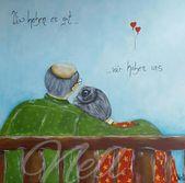 "POSTCARD ""We're fine …."" – Illustrations – Illustrations – With love h … – Sonja Wendel"