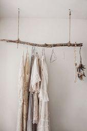 DIY: Mein Schlafzimmer ohne Kleiderschrank | Glowb…