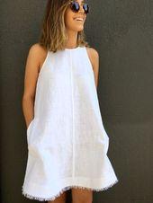 32 Kreative coole Kleider zum Nähen für den Sommer
