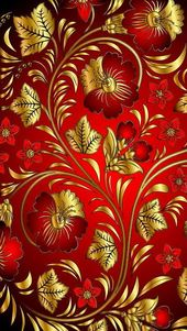 Super Wallpaper Red Gold Wallpapers Ideas