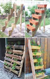 DIY Ideas to Build a Vertical Garden for Small Space
