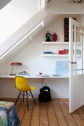 Dachschräge einrichten » Stauraum und Gestaltung