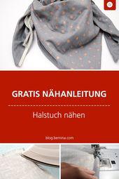 Geschenkidee: Kuschelige Tücher nähen » BERNINA Blog – Nähen