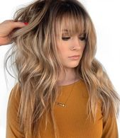 50 Cute and Easy Lengthy Layered Haircuts with Bangs