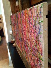 WFMW: DIY Inspiring String Art