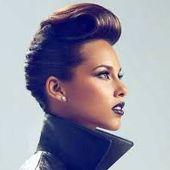 Ergebnis des Bildes für funky Frisuren für natürliche Kurzhaar- # Frisuren #Haar #Fein #Funk #Bild #Natürlich