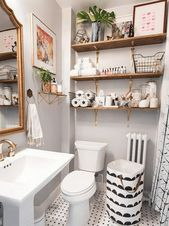 Small bathroom – clever tricks that make the bathroom look bigger