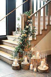 39 Schöne Möglichkeiten, Kerzen bei Ihrer Hochzeit zu verwenden