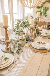 Spring Table Settings: How to Create a Gorgeous Spring Table
