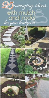 Landscaping Ideas With Mulch And Rocks 2019