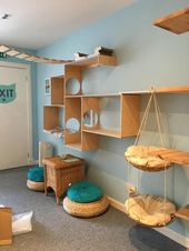 19+ Süße & Super Katzenhaus Ideen – Indoor Outdoor – Outdoor Ideen