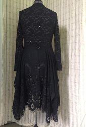 Stevie Nicks Festival clothing Boho chic lace dress lagenlook shabby chic boho chic vintage style ro – Products