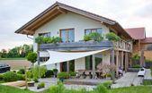Haus in Holzrahmenbauweise, Rosenheim, Afrika