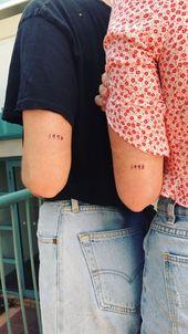 Ich hätte gerne ein Tattoo mit einer Nummer, die etwas darstellt! – #Nummer …