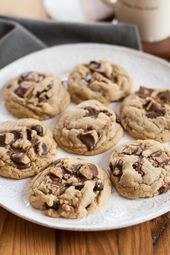 Soft peanut butter cookies and peanut butter cups …