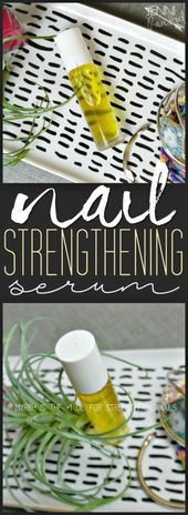 DIY Nagelstärkendes Serum   – Oils