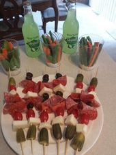 Finger food. Perfect for a picnic – –