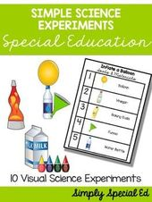 Simple Science Experiments for Special Education