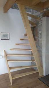 Holztreppe 1m2