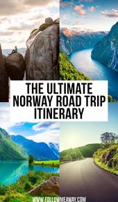 The Ultimate Norway Road Trip Itinerary – Follow Me Away
