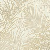 Sapphire Palm Leaf Wallpaper Rose Gold Wallpaper From I Love Wallpaper Uk Palm Leaf Wallpaper Leaf Wallpaper Cream And Gold Wallpaper