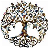 Tree of Life Infinity Tree Wall Decor  by Humdinger Designs…go to www.humdinge…