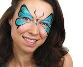 Schmetterling schminken – Einfache Anleitung, Bilder und Vorlagen