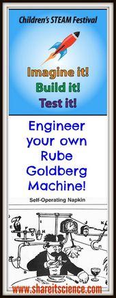 Children's STEAM Festival: Rube Goldberg Machines- An Engineering Challenge.... 2