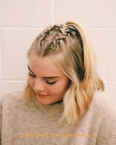 Good looking braid ideas #hairbraids#braid #good #hairbraids #ideas