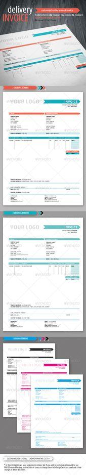 Marketing Budget Template Templates Pinterest Budget template - delivery invoice template