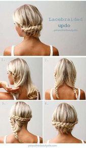 Frische, einfache Frisur für langes, dünnes Haar – Neue Haarmodelle – Frische …   – My Blog