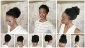 3 Cute and Quick Natural Hairstyles