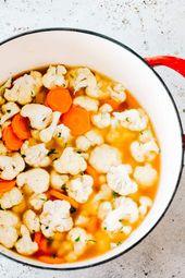 Dieses einfache Blumenkohlrezept ist eine leckere Variante der klassischen Käsesuppe. Gemacht mit …   – Soup