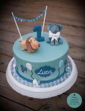 Motivkuchen zum Geburtstag – Babykuchen. Alles Gute zum 1. Geburtstag. Babydusche. Elefant…..   – cakes