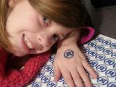 Wasserrutsche temporäre Tattoos DIY Inkjet Papier. – #