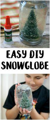 Straightforward DIY Snowglobe