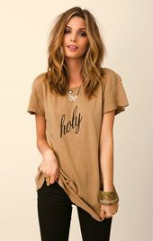 WILDFOX Hippy Crew Holy Shirt | ✂ Neue Haarfarben