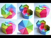 DIY | Octagon origami box – tutorial | jewelry box…