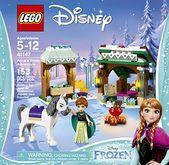 LEGO Disney Frozen Annas Schneeabenteuer 41147, Disney Princess Toy   – Lego