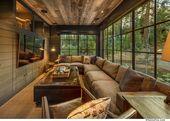 Warm and cozy mountain style farmhouse nestled in the Sierra Nevadas