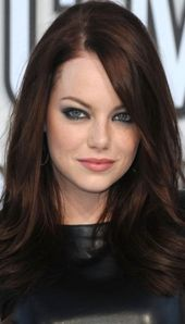 Super chocolate brown hair with red tint caramel waves 19 ideas