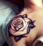 20 Gorgeous Flower Tattoo Designs – Hottest Female Flower Tattoos – Lifeofk