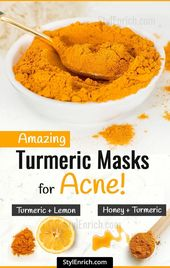 Turmeric Masks For Acne : How It is Benefitial for Acne?